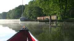 Summer Morning at Lake Müritz - Mecklenburg-Vorpommern Stock Footage