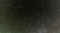 North Star Time Lapse Stock Footage