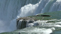 Niagara Falls in Slow Motion 96fps Stock Footage