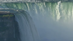 American Falls in Slow Motion Stock Footage