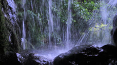 Waterfall - Close Up - Normal shutter speed Stock Footage