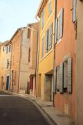 Street in the provence Stock Photos