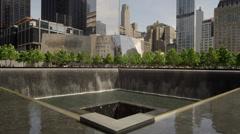 Ground_zero_fountain Stock Footage