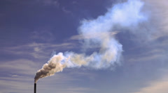 Smoke Plume Time Lapse Stock Footage