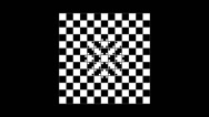 Stock Video Footage of Optical illusion with distorted checkered graphic 2-12