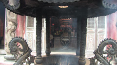 Lukang Langshan temple in Taiwan Stock Footage