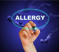 Allergy Stock Illustration