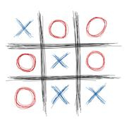 tic tac toe - stock illustration
