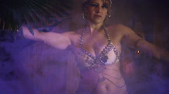 Egyptian belly dance bellydancer Stock Footage