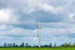 Stock Photo of windmill