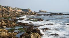 Corona del mar beach Stock Photos