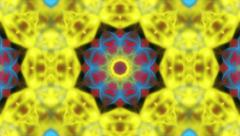 Hypnotic kaleidoscope Hippie background - 1080p Stock Footage
