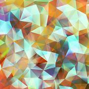 Stock Illustration of Geometric color background. EPS 10