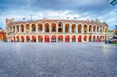 The verona arena Stock Photos