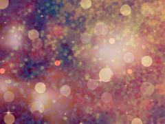 Stock Illustration of Defocused beidge lights. glitter. EPS 10