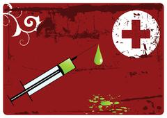 first aid - stock illustration