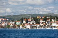 Stock Photo of rogoznica, croatia view
