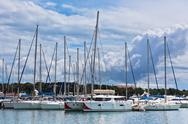 Stock Photo of vodice, croatia marina view