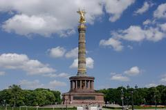 Berlin Victory Column, Germany - stock photo