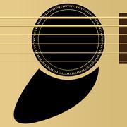 Acoustic guitar Piirros