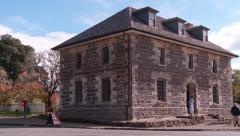 Historic Old Stone Store at Keri Keri Stock Footage