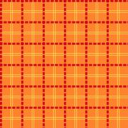bright orange seamless mesh pattern - stock illustration