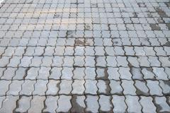 flooring tiles. - stock photo