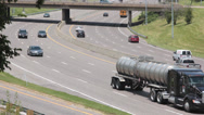 Stock Video Footage of Time Lapse Cars on Interstate