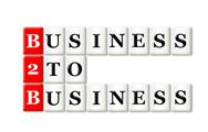 Stock Illustration of business to business