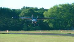 Cessna 206 Landing Stock Footage