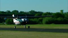 Cessna 206 Take Off Stock Footage