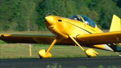 RV-8 Taxi Stock Footage