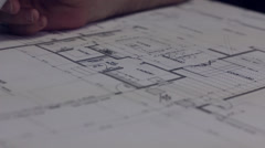Floor Plans Stock Footage