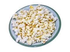 Pop corn in a plate Kuvituskuvat