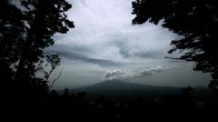 Mt Fuji before rain, 4K (3840x2160) Stock Footage
