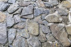 Pattern and texture stone wall Stock Photos