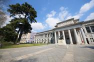 Stock Photo of prado museum