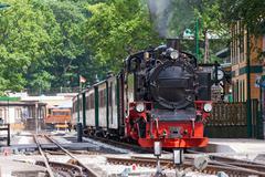 Stock Photo of steam locomotive, rasender roland, rügen