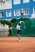 Stock Photo of junior tennis competitions