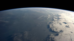 Earth from the International Space Station. From Western Africa to Japan. - stock footage