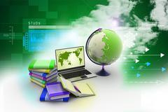education concept - stock illustration