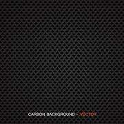 Carbon fiber material - vector Stock Illustration