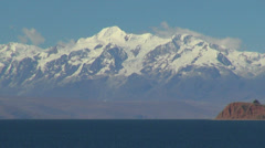 Bolivia Lake Titicaca & Andes  Stock Footage