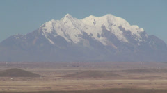 Bolivia altiplano volcano s Stock Footage