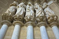 gothic apostles - stock photo