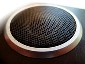 Stock Photo of texture from acoustic woofer