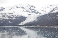 Global warming, receding glacier, Alaska Stock Photos