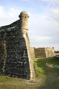 Castillo de San Marcos, St. Augustine, Florida - stock photo