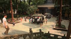 Lingyin Temple 3 Stock Footage