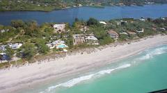 Englewood Beach, Florida aerial Stock Footage